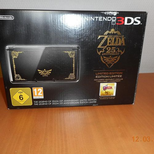 New Game Console NINTENDO 3DS Edition Limited The Legend of Zelda 25 th Annivers…