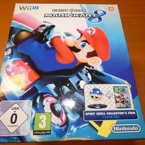 Game console WII U The Legend of Zelda THE WINDWAKER and 3 games. Visits and pic…