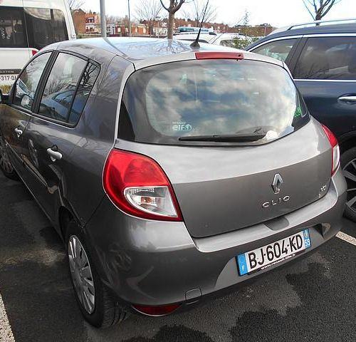 RP] [ RESERVE PRO ] RENAULT CLIO III 1.5 DCI, Diesel, imm. BJ 604 KD, type M10RE…