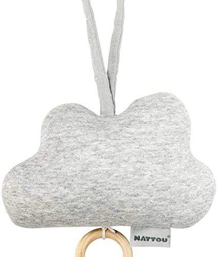 Jouet musical NATTOU Pure nuage gris 100% coton article neuf vendu sans garantie…