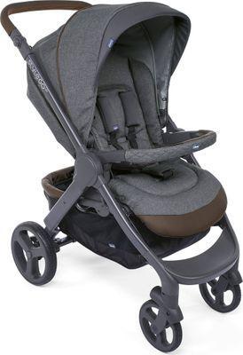 "CHICCO Poussette ""StyleGo Up Stroller Crossover Cool"" gris dès la naissance 78 x…"