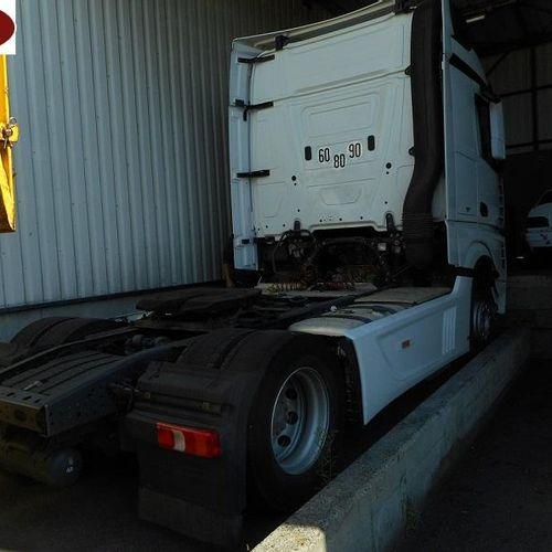 [RP][ACI]  [Réservé Professionnels] Tracteur routier MERCEDES BENZ ACTROS BLUET…