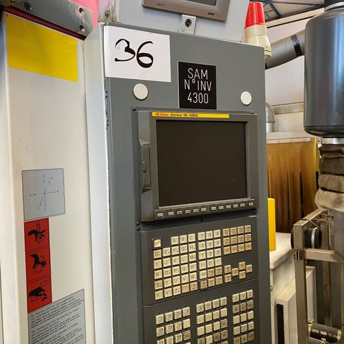 Centre d'usinage STAMA  MC 256  ANNEE2008    SAMO 02