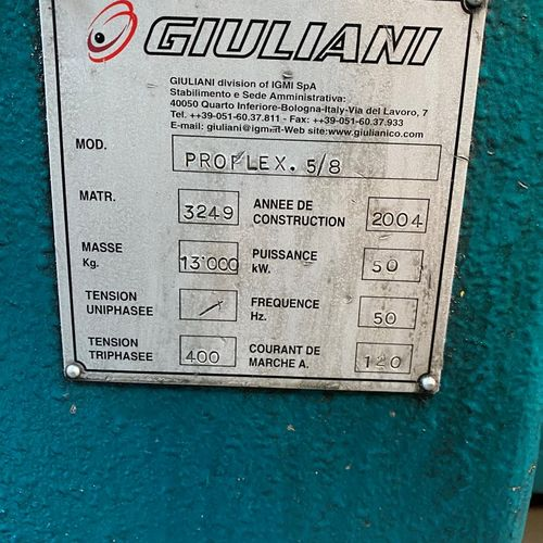 Transfert Proflex GIULANI  TYPE PROFLEX    SAMO 1