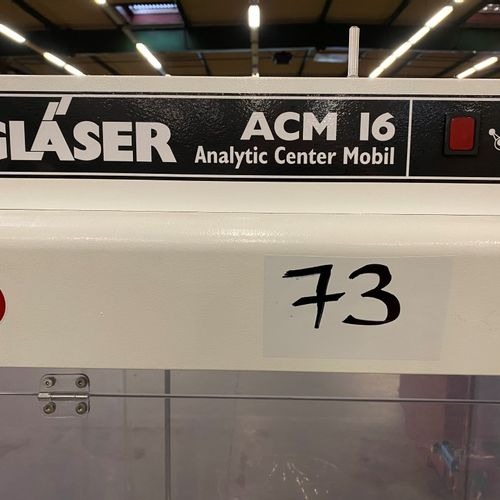 CENTRALE ANALYSE MOBILE US GLASER  AMC 16    POCHONS