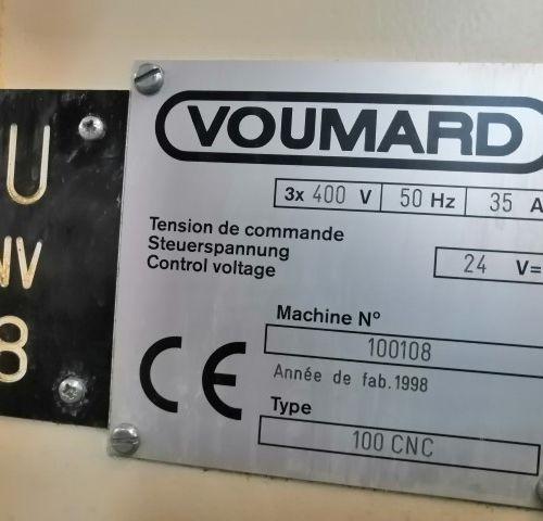 Rectifieuse VOUMARD 100 CNC  ANNEE 1996      POCHONS