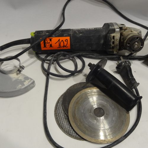 Worx grinder model WU830 Diam 125 (LJ PICTURA DUBOIS) Costs 12% HT i.E. 14.40% T…